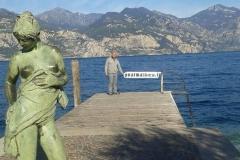 Lac de garde en Italie