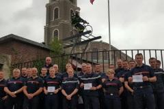 Les sapeurs-pompiers de Amiens Catelas (80)