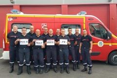 Les sapeurs-pompiers de Amiens Ferry (80)